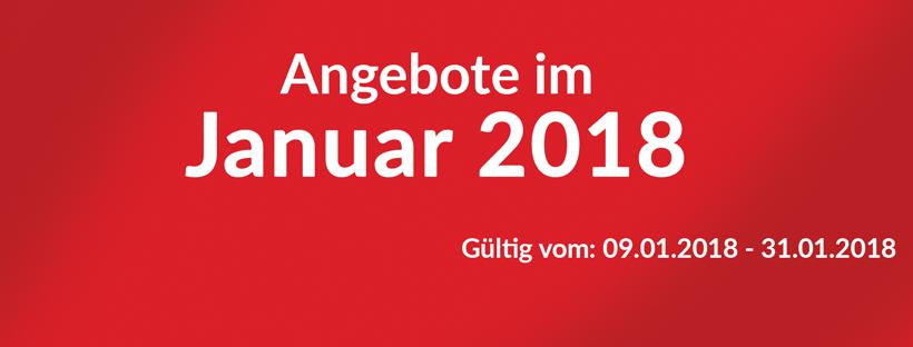 Unsere Angeote im Januar 2018